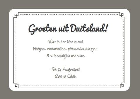 Vakantie Landkaart Duitsland 3