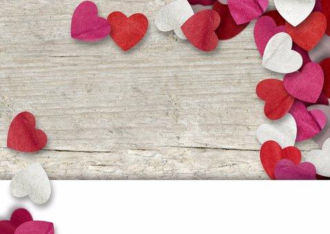 Valentijn confetti hartjes leuk 2