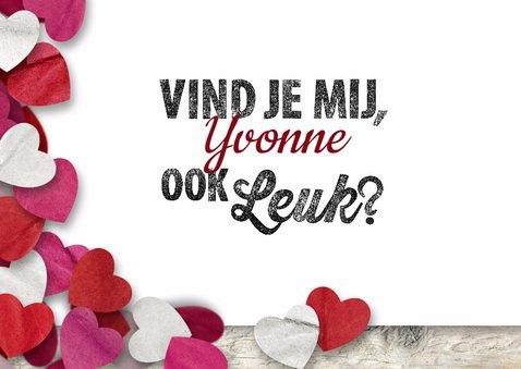 Valentijn confetti hartjes leuk 3