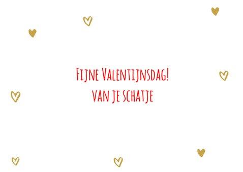 Valentijnsdagkaart tot de maan en terug 3