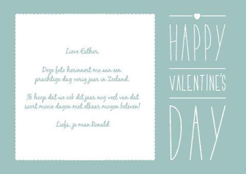Valentijnskaart Foto met Vlak 3