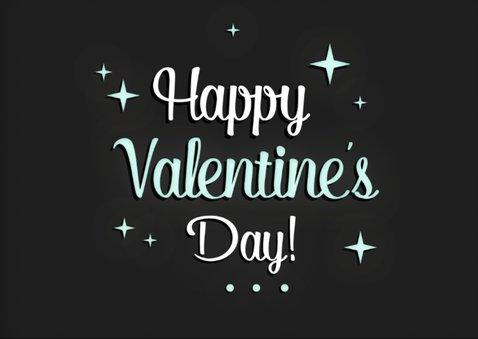 Valentijnskaart met foto sterren 2