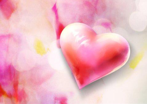 Valentijnskaart scrapbook harten 2