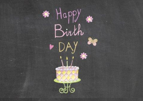 verjaardag taart balonnen 2