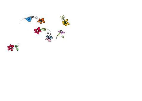 Vespa Ape geel bloemen 3