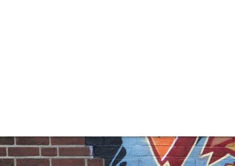YVON feest graffiti muur man jongen 3