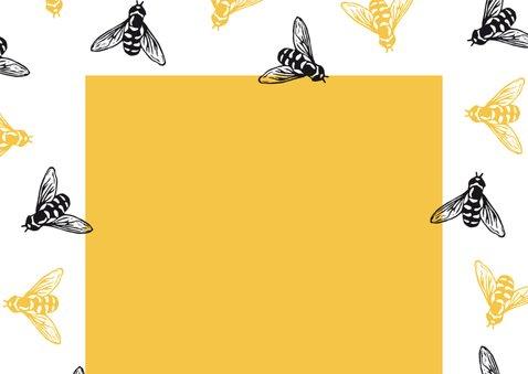 Zomaarkaart Hey busy bee 2