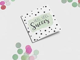 Succes kaarten maken