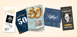 50e verjaardag uitnodiging