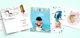 Kinderfeestjes uitnodiging
