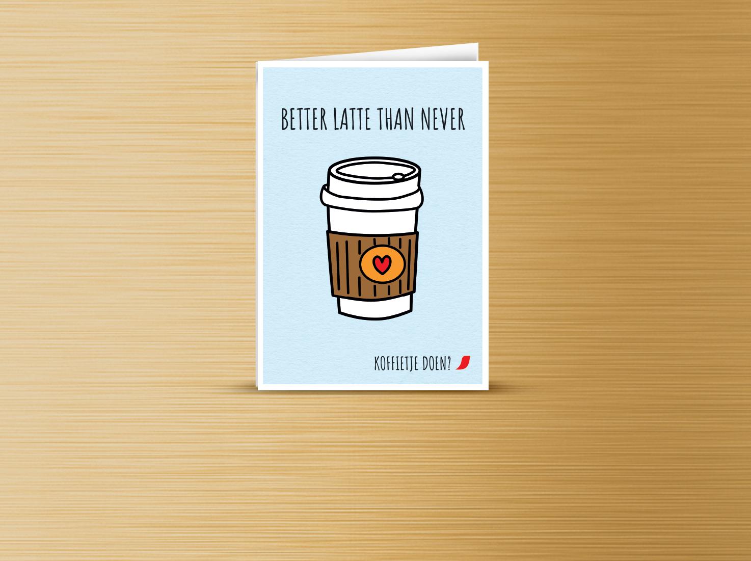 Koffie kaart 1