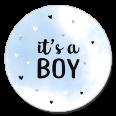 Sluitzegel it's a boy jongen