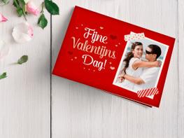 Valentijnskaarten met eigen foto