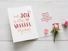 Valentijnskaart voor haar
