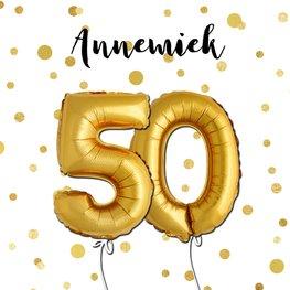 Uitnodiging 50e verjaardag