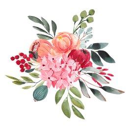 Kaarten met bloemen