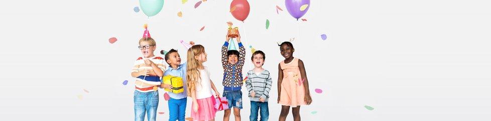 De uitnodiging voor het leukste kinderfeestje